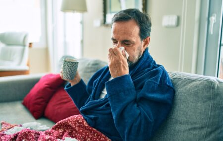 Schonere lucht in huis ervoor zorgt dat je minder snel verkouden wordt