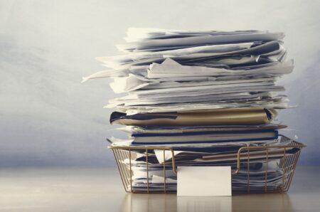 Hoe organiseer je in vijf stappen je papierwerk?