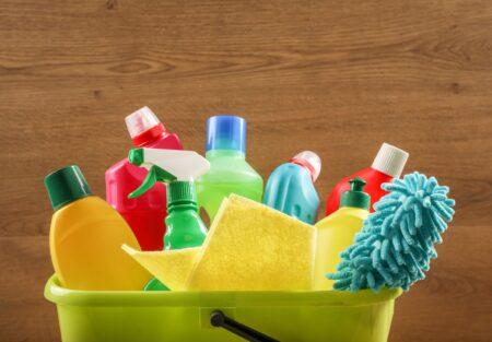 De woonkamer, keuken of badkamer schoon in 15 minuten?
